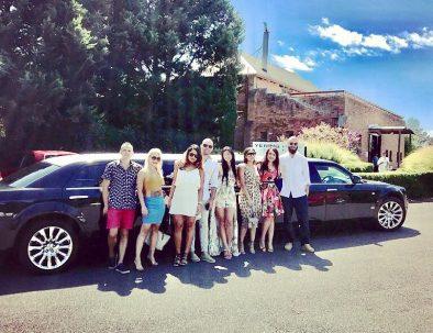 winery tour limousine